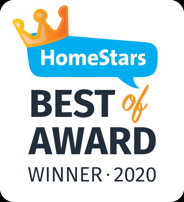 HomeStars 2020 Award