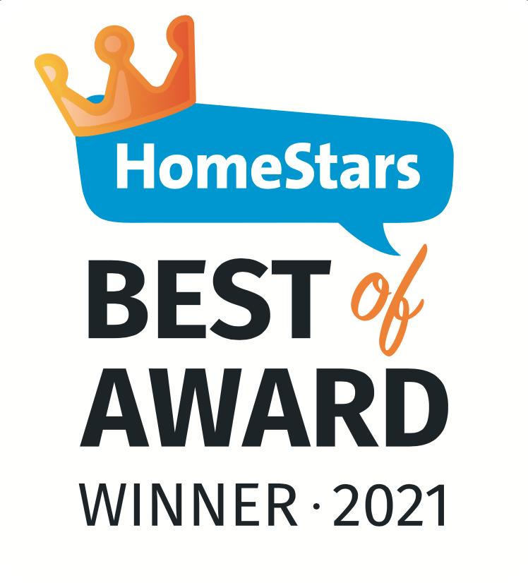 HomeStars 2021 Award