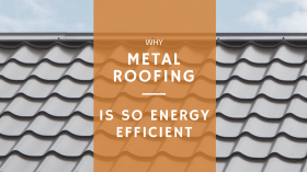 energy efficient metal roofing
