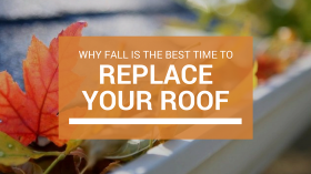 fall roof replacement