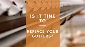 is it time to replace your gutters